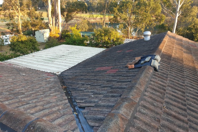 roof repair job in miranda The Shire